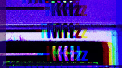 Urban radios sequence Stock Footage