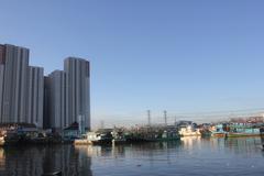 Port of Muara Angke North Jakarta Stock Photos