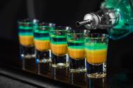 Stock Photo of shots in nightclub