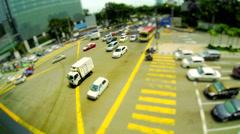 Kuala Lumpur Traffic Time Lapse Stock Footage