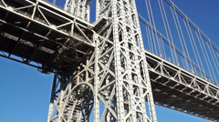 1051 George Washington Bridge Stock Footage
