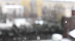 Stock Video Footage of Blurred snowing
