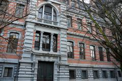 Old house of justice in Antwerp - stock photo