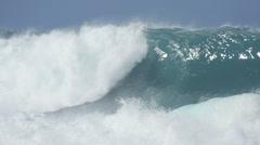 Ocean wave tide Stock Footage