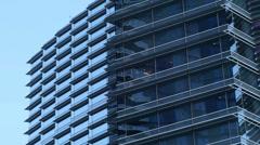 Las vegas city center buildings suites 2 Stock Footage