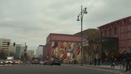 Stock Video Footage of 067 Berlin, Traffic on road near by Alexanderplatz