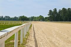 Southern horse track Stock Photos