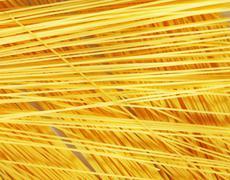 Raw pasta as whole background Stock Photos