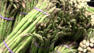 Stock Video Footage of grocery store vegetables ZO