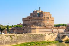 The mausoleum of hadrian, castel sant angelo, rome, italy Stock Photos