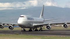 Jumbo Jet Stock Footage