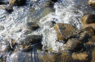 Stones in a River Stock Photos