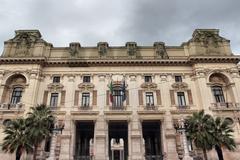 Ministero della pubblica istruzione, Italian education Ministry Stock Photos
