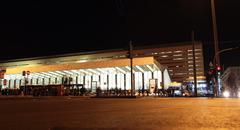 termini station rome - stock photo