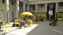 Locarno Film Festival in Switzerland on August 9th, 2013. Stock Footage