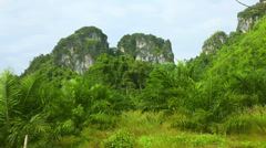 Thailand landscape. Stock Footage