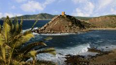 Sardinia, seascape Stock Footage
