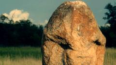 Scythian stone idols (sequence) Stock Footage