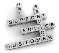 Customer Support - stock illustration