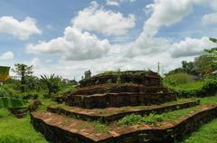 Weangkumkam historic site in chiangmai city Stock Photos
