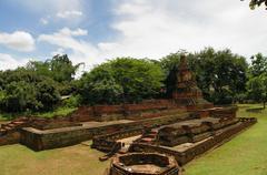 Weangkumkam the underground ancient city - stock photo