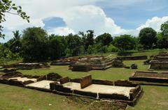 Weangkumkam historic site in chiangmai - stock photo