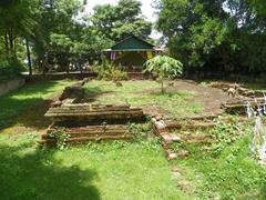 Weangkumkam historic site in chiangmai city - stock photo
