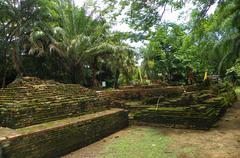 Weangkumkam historic site in chiangmai city,thailand Stock Photos