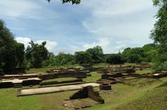Weangkumkam the underground ancient city Stock Photos
