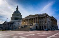 Stock Photo of the united states capitol, in washington, dc.