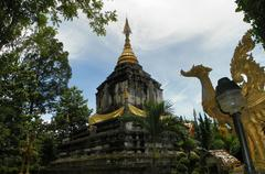 Weangkumkam historic site in chiangmai Stock Photos