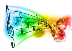 music - stock illustration