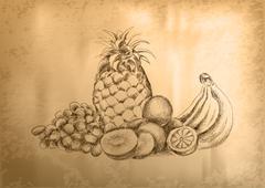 Stock Illustration of fruit