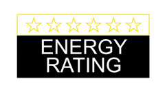 energy rating - stock footage