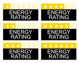 Stock Illustration of energy rating