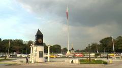 Rizal park time lapse Stock Footage