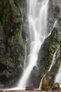 Waterfall at sao miguel island) Stock Photos