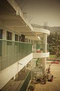Stock Photo of primary school campus, pune, maharashtra, india