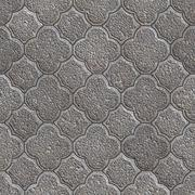 Figured Pavement. Seamless Tileable Texture. Stock Illustration