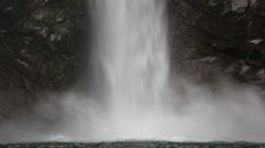 Waterfall in Batad ,  Philippine. Stock Footage