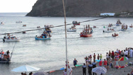 Stock Video Footage of Fiesta del Carmen, Fuerteventura