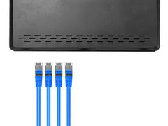 ethernet cable - stock photo