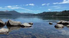 Beautiful Lake Stock Footage