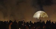 Loi Krathong Lanterns Stock Footage