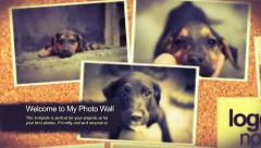 My Photo Wall Template Stock After Effects