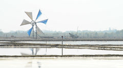 Windmill for agriculture Stock Footage