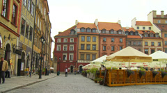 Warszawa , Warsaw Stock Footage