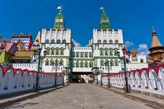 Izmailovo Kremlin - stock photo