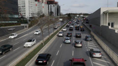 Time lapse Traffic Stock Footage