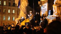Pro-EU rallies Stock Footage